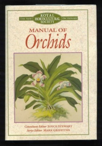 Image for Manual of Orchids (Royal Horticultural Society Ser.)