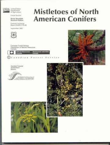 Image for Mistletoes of North American Conifers. General technical report of the Rocky Mountain Research Station : GTR-98 [USDA]