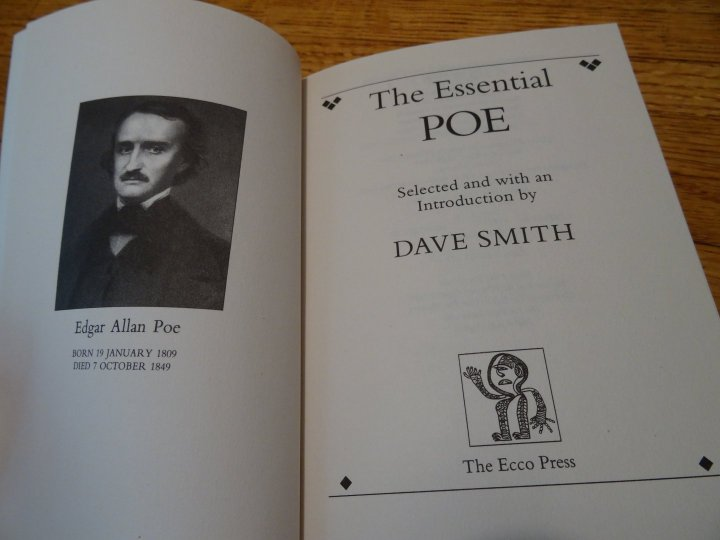 Image for The Essential Poe. [The Essential Poets Series]