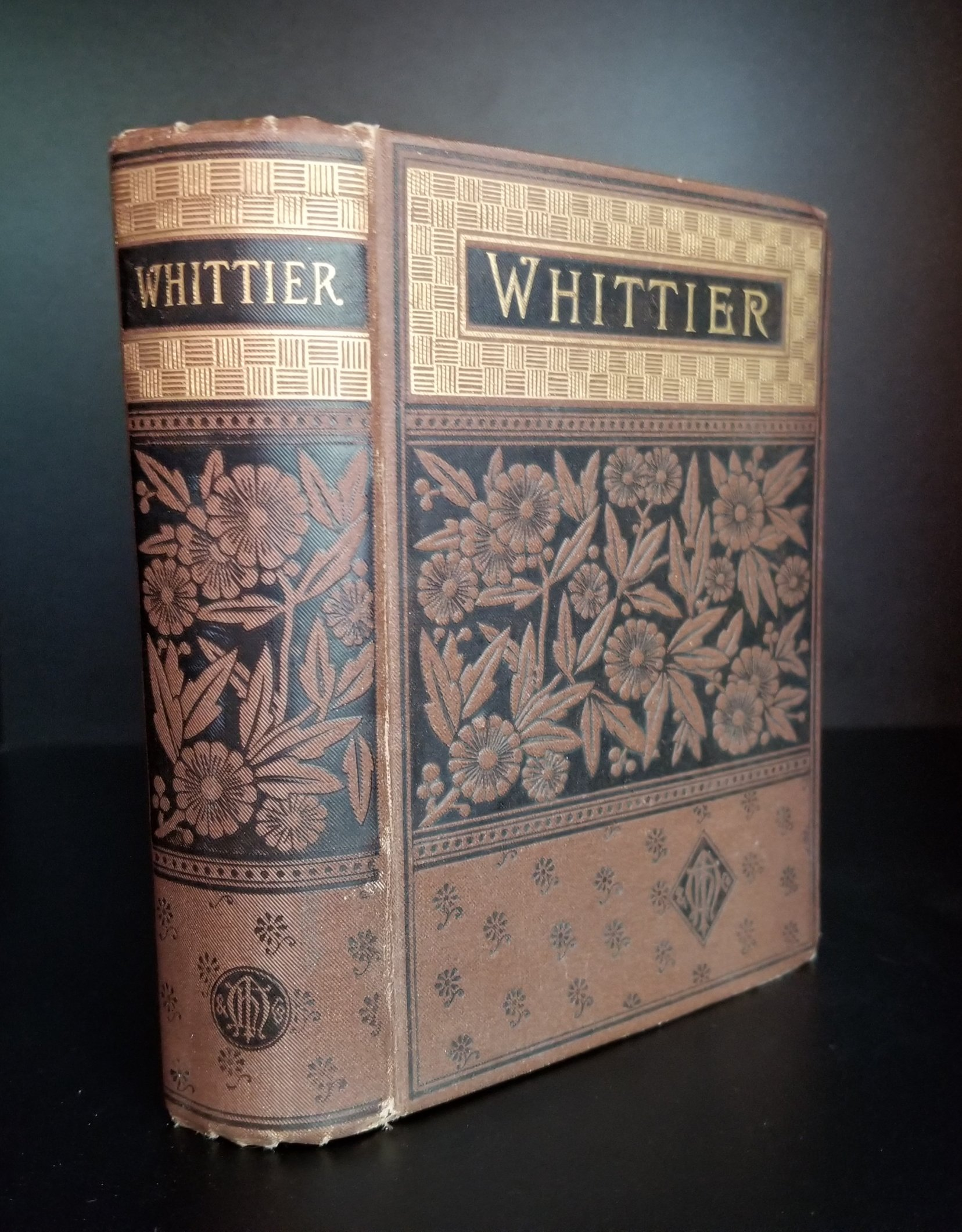 Image for The Poetical Works of John Greenleaf Whittier. Complete Edition.